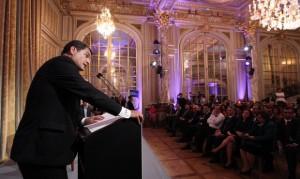 Rafael Correa en París