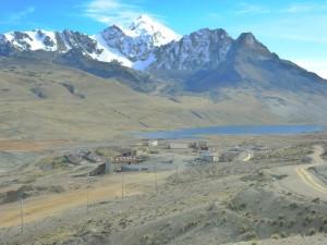 El desolado campamento minero