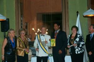 El Club Rotario de la comunidad de Sant Pol de Mar en esta ciudad de Barcelona