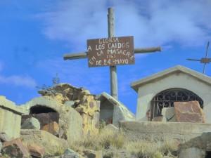 El desolado cementerio de los mineros