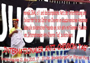 """INTERNATIONALER ANTI-CHEVRON TAG"" @ Brandenburger Tor   Berlin   Berlin   Deutschland"