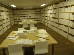 "Wilfredo Prieto's ""Untitled"" (White Library),"