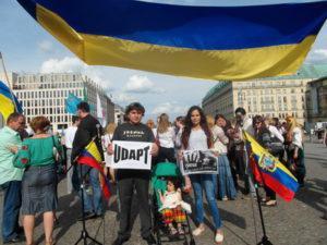Día Internacional Antichevron en Berlín -2016