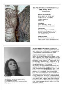 DIE NEUEN HERAUSFORDERUNGEN DER MENSCHHEIT @ Im Kunstraum LA GIRAFE | Berlin | Berlin | Deutschland
