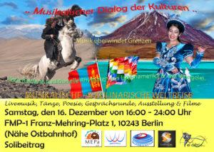 Musikalischer Dialog der Kulturen @ FMP1- Franz-Mehring-Platz | Berlin | Berlin | Deutschland